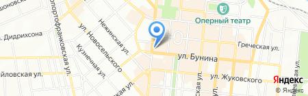 Legend на карте Одессы