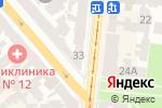 Схема проезда до компании iStop в Одессе