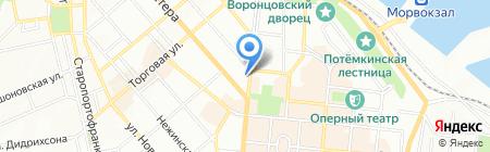 Кий Авиа на карте Одессы