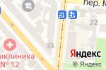 Схема проезда до компании The Book Shop в Одессе