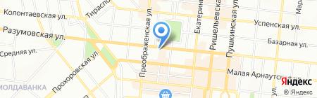 Евромарин Тур на карте Одессы