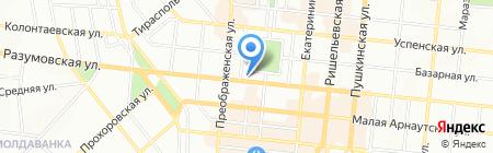 Эльф Декор на карте Одессы