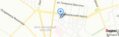 Никтан на карте Одессы