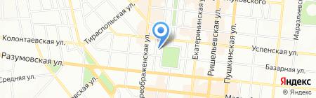 Медицинский центр врачей Очаковских на карте Одессы
