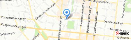 Национальная Ассоциация Телохранителей на карте Одессы