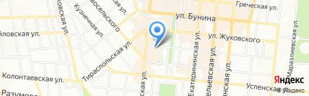 МЁД на карте Одессы