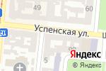 Схема проезда до компании Интех в Одессе