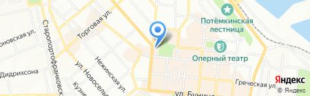 КлараБара на карте Одессы