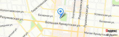 Одесса Сидоров и компания ПО на карте Одессы