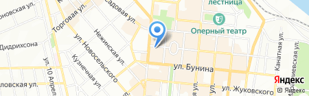 Одесские майсы на карте Одессы