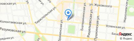 Тепло Холод на карте Одессы