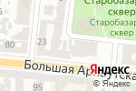Схема проезда до компании M Square Service в Одессе