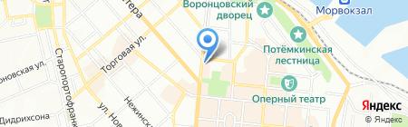 Buddha Grill на карте Одессы