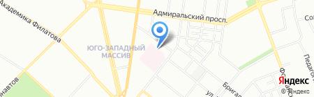 Интермедсервис на карте Одессы