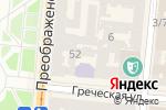 Схема проезда до компании Квартал в Одессе