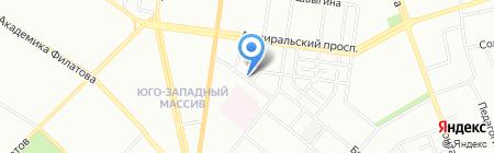 Детский сад-ясли №272 на карте Одессы