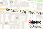 Схема проезда до компании Рыбацкий рай в Одессе