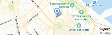 ТВА-Информ на карте Одессы