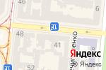 Схема проезда до компании Ганга в Одессе