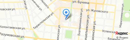 Діамантбанк на карте Одессы