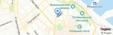 Медикотека на карте Одессы