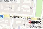 Схема проезда до компании Бланк в Одессе