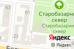 Схема проезда до компании City Flowers в Одессе