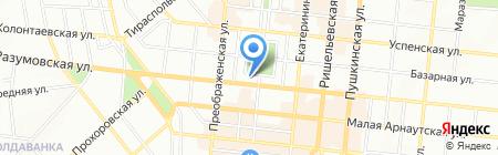 Uniqa ЧАО на карте Одессы