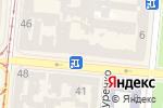 Схема проезда до компании Справка Информ в Одессе