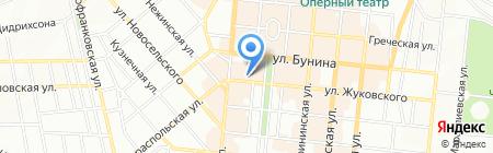 Умелые ноги на карте Одессы