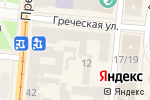 Схема проезда до компании Arman Education Plus в Одессе