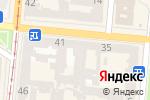 Схема проезда до компании Черноморский профессиональный союз моряков в Одессе
