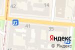 Схема проезда до компании Топ Сендвич в Одессе