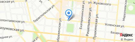 Чемодан-chic на карте Одессы