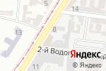 Схема проезда до компании Империя цветов в Одессе