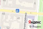 Схема проезда до компании К`юфарэ в Одессе