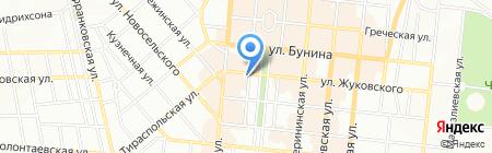 Горячие туры на карте Одессы