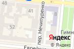 Схема проезда до компании Yes Fitness в Одессе