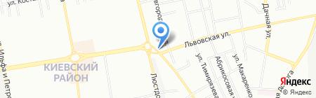 Улисс на карте Одессы