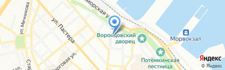 4 Gates Ukraine на карте Одессы