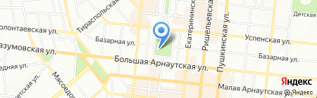 Подкова на карте Одессы