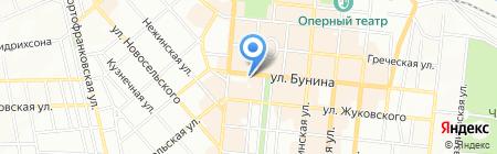 Дюсо на карте Одессы