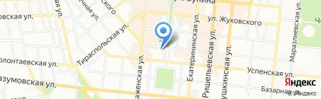 BEEF Bar на карте Одессы