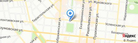 Рандеву на карте Одессы