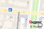 Схема проезда до компании Diamond в Одессе