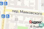 Схема проезда до компании Навигатор в Одессе