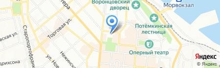 Одесская областная автошкола ВСА на карте Одессы