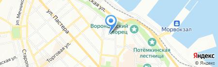 Социальная правовая помощь на карте Одессы