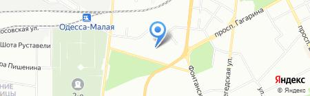 Одесская общеобразовательная школа №77 I-III ступеней на карте Одессы