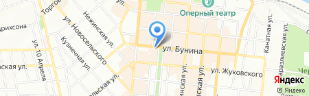 Тёtя-Моtя на карте Одессы